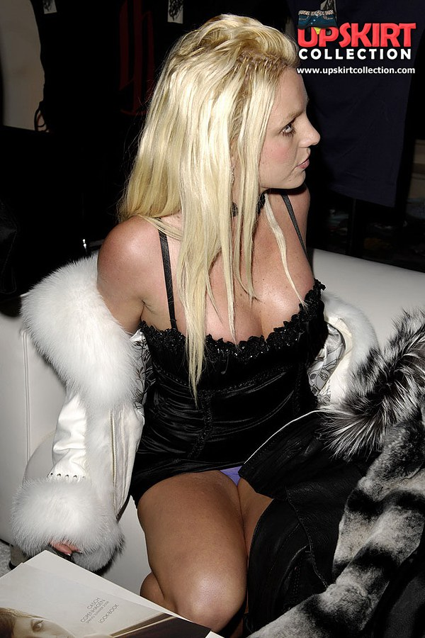 Brittany spears upskirt shot